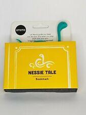 New Ototo Nessie Tale Bookmark TurquoiseHx4706