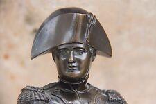 19C French Napoleon Bronze Statuette