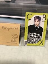 EXO CBX Girls Extended Play Official Photocard - Xiumin (Slight Damage)