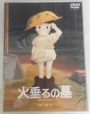 Anime DVD Grave Of The Fireflys Chinese Original NTSC Very Rare