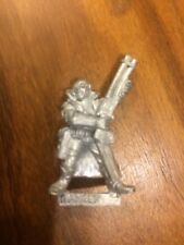 Necromunda Delaque Ganger With Shotgun #1 Metal OOP Warhammer OOP GW