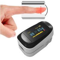 Finger Tip Pulse Oximeter Blood Oxygen meter SpO2 Heart Rate Saturation Monitor