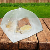 Set of 2 Large Pop-Up Mesh Screen Food Cover Tents Reusable FD8
