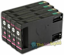 4 Magenta T7013 non-OEM Ink Cartridge For Epson Pro WP-4545DTWF WP-4595DNF