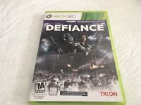 Defiance Microsoft Xbox 360 Complete W/manual Free Shipping
