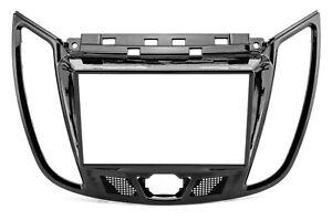 Blende Rahmen Autoradio für Ford Focus 3 C Max Kuga ab 2011 ab 2013 Doppel-DIN