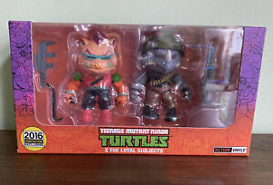 Teenage Mutant Ninja Turtles 2016 Convention Exclusive 2 Pack Beebop-Rocksteady