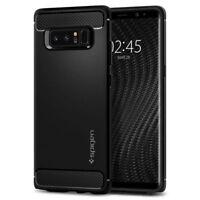 Spigen Galaxy Note 8 Rugged Armor Black Carbon Fiber Design Case (587CS22061)