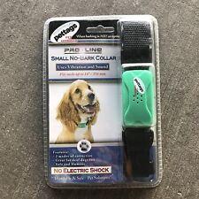 New listing New Pet Tags Pro Line Small Adjustable No-Bark Dog Collar No Shock*