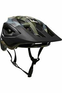 Fox Racing Speedframe Pro Helmet, Green/Camo, Small