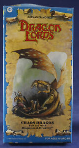 Grenadier Miniature 1985 Dragon of Month 2516 Chaos Dragon w/box and insert D&D