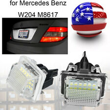 Canbus Led Numbers License Plate Light Bulbs For Mercedes Benz W204 W212 W221 Us