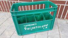 CAJA SIFONES siglo XX CARBONICA GUIPUZCOANA S.A coleccion AGUA DE SELTZ plastico