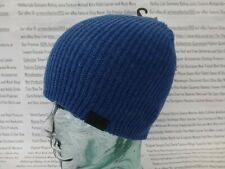G-STAR RAW Thin Ribbed Beanie Mens CART Double Layer Hat H. Blue Skull Cap BNWT