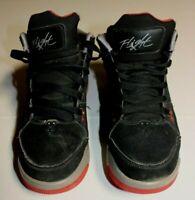 Boys Nike Air Jordan Flight Origin 599606-003 GS Basketball Shoes Size Youth 6Y