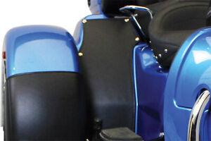 Motor Trike MTBY-0219 Black Leather Inner Fender Bras For Harley Tri-Glide 09-18