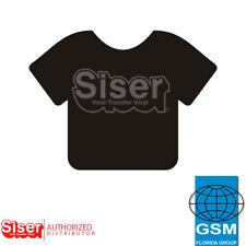"SISER HTV EasyWeed Heat Transfer Vinyl 12"" x 5 yards BLACK"