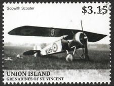 WWI SOPWITH SCOOTER / SWALLOW RFC Parasol Wing Reconnaissance Aircraft Stamp