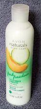Avon Naturals Hand & Body Lotion Cucumber & Melon moisturizing 8.5 oz New Seal