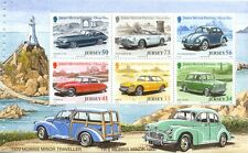 Jersey-Classic Cars( no.2)mnh Min sheet ex booklet-Morris Minor-