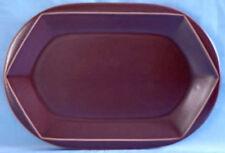 Ovale Platte 28 cm Rosenthal FAVO ivo-maron