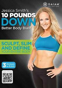10 Pounds Down with Jessica Smith - Sealed - 3 Workouts on 1 DVD