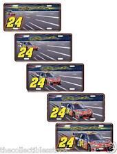JEFF GORDON SIGNATURE HENDRICK DUPONT MOTORSPORTS NASCAR MOTION LICENSE PLATE