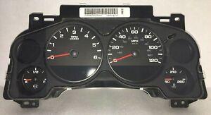 07-13 GMC Chevy Silverado Sierra Rebuilt Dash Speedometer Gauge Cluster 25861659