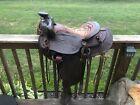 "Gorgeous Vtg Leather Big Horn Western Saddle 15"" Seat 7"" Gullet #553 Extras"