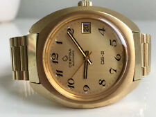 CERTINA DS-2 Automatic 20M Gold *NOS, 1969/1970,  great dial!*