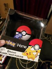 New Pokemon Pokeball Bluetooth Wireless Speaker by iHome LED Light - Brand New