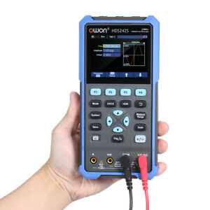 HDS242S 3in1 Oscilloscope True-RMS Multimeter CH 40MHz Bandwidth For Car Audio