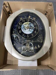 Small World Rhythm DWS Peaceful Cosmos Musical Wall Clock - Open Box, Pristine