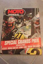 MOTO JOURNAL 533 HONDA XLR 500 XR 200 ; KAWASAKI Z500 B Z ; Grand Prix 1981