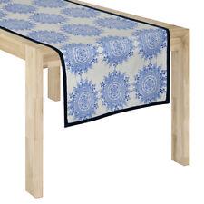 WOW Hamptons Style Stunning Sina Blue Table Runner 45 cm x 145 cm RRP $ 48.95