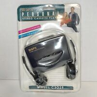 New! Sealed! Vintage GPX Personal Stereo Cassette Player  !!