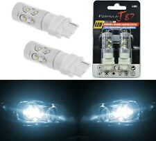 LED Light 50W 3156 White 6000K Two Bulbs Front Turn Signal Replacement Upgrade