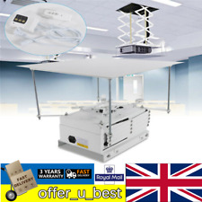 Electric Integrated Projector Lift / Drop Control Ceiling Mount Hanging Bracket