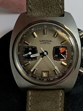 NOS Valjoux 7734 Breitling Movement with Lincoln Dial