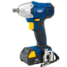 "Draper 18 V Cordless 1/2"" EXPERT Sq. DR. IMPACT Wrench con Li-Ion Battery 83689"