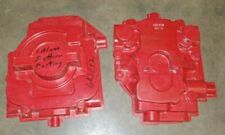 2 Large Involved Wood Hydraulic Valve Body Patterns Industrial Foundry Molds