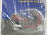 Peugeot Elyseo 125 in dunkelrot, OVP, Maisto, Mega Bikes 34, 1:18