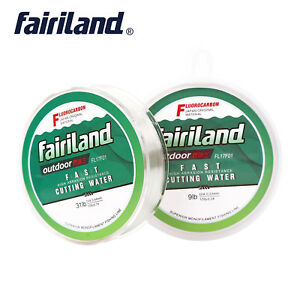 100m Fluorocarbon Fishing Line Abrasion Resistant Super Strong Clear Fish Lines