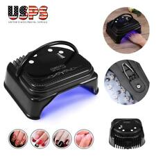 64W Cordless Led/Uv Nail Lamp Gel Polish Nail Dryer Wireless Rechargeable New
