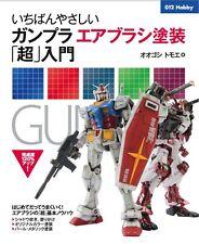 Brand New Most friendly Gundam Air Brush Paint Super Introduction Japanese Book