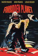 FORBIDDEN PLANET Movie POSTER D 27x40 Walter Pidgeon Anne Francis Leslie Nielsen