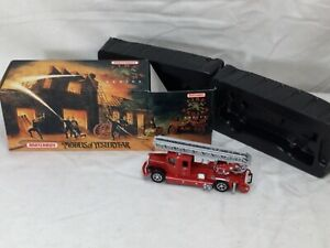 1993 Matchbox Models of Yesteryear 1932 Mercedes Benz Ladder Truck Boxed FREESHP
