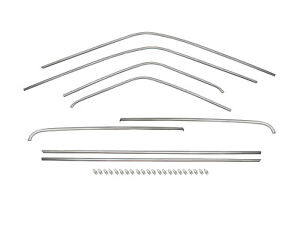 Holden Torana Chrome Body Moulding Trim Set LC LJ COUPE 8pcs (Stainless) mould