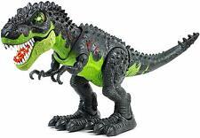 Tyrannosaurus T-Rex Walking Dinosaur Lights Sound Toy for Kid Battery Operated