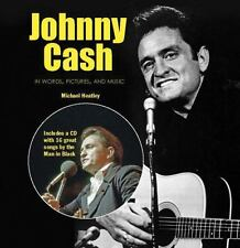 Johnny Cash in Words Pictures and Music by Michael Heatley (2014, Paperback)